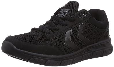hummel HUMMEL CROSSLITE Q - Zapatillas de gimnasia, unisex, color schwarz (black 2001), talla 36