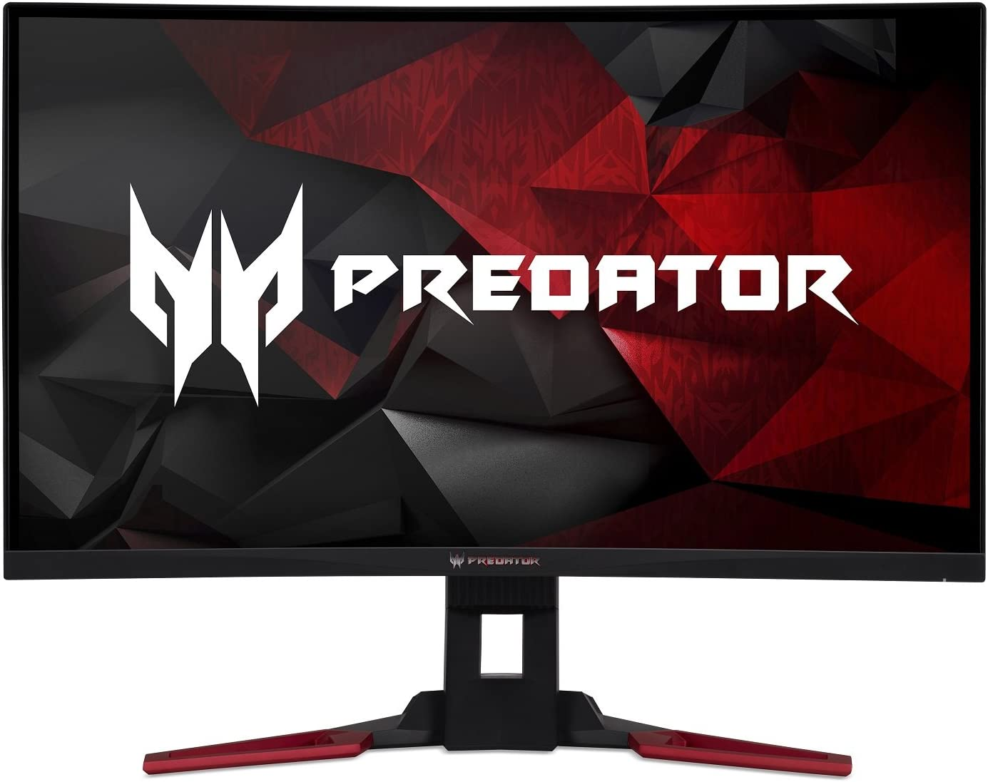 "Acer Predator Gaming Z321QU bmiphzx Curved 31.5"" WQHD Monitor with NVIDIA G-SYNC Technology (Display Port & HDMI Port),Black"