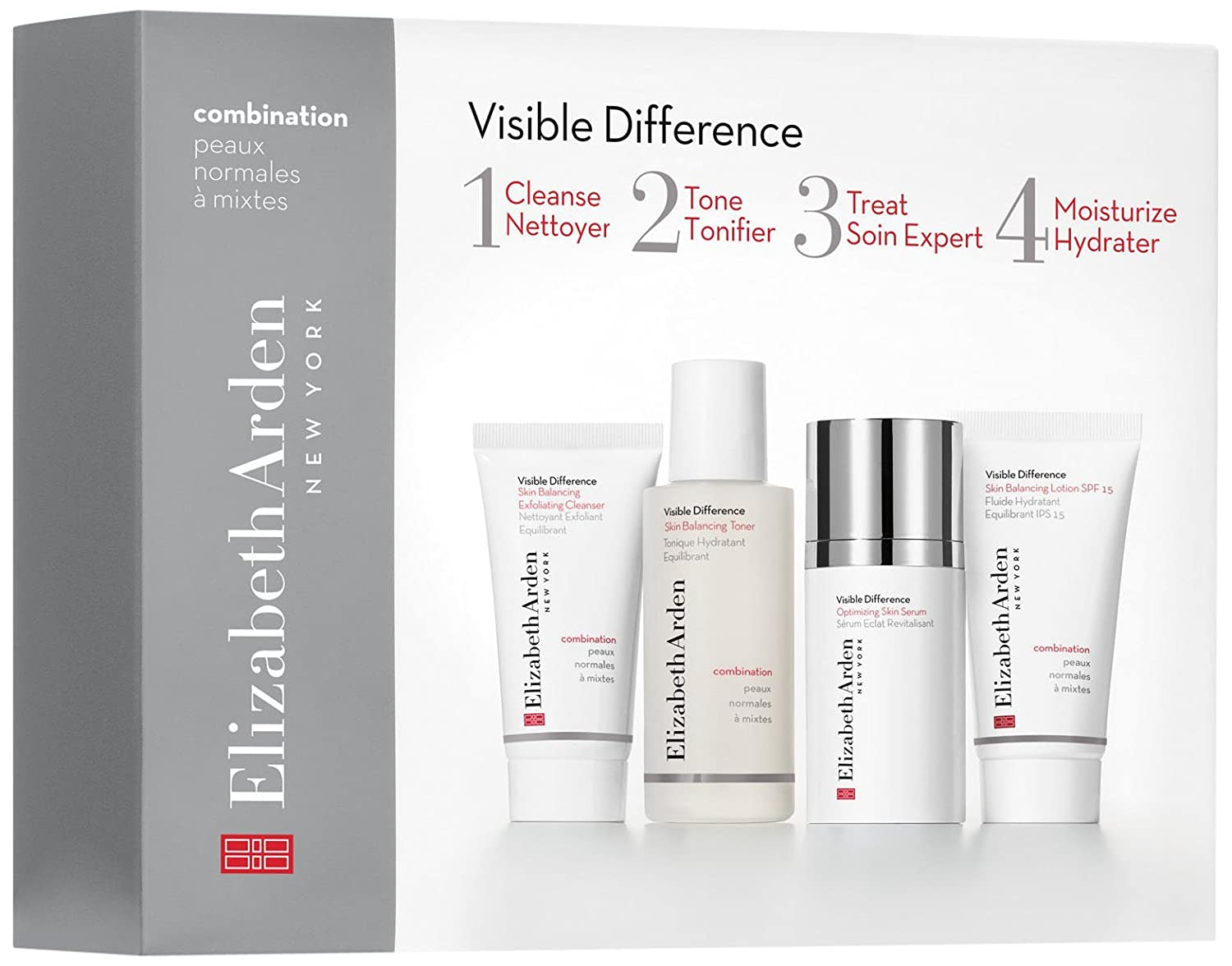 Elizabeth Arden Visible Difference A tan sólo 4 pasos Hidratación Gift Set 85805188641