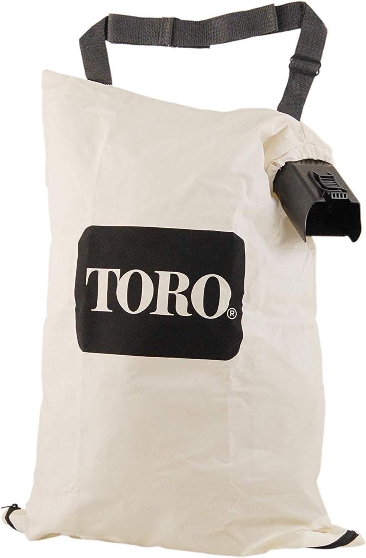 TORO OEM Blower Vacuum Bottom Zip Debris Dump Collection Bag / 51574, 51592, 51593 & More / 137-2336, 127-7040, 108-8994