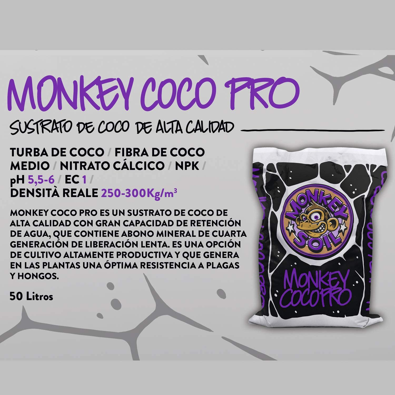 MONKEY SOIL Tierra para Plantas Marihuana 50L Exterior/Interior ...