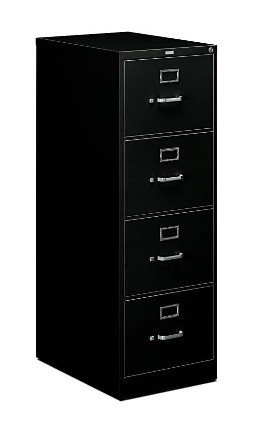 Fantastic Hon 4 Drawer Legal File Full Suspension Filing Cabinet With Lock 52 By 25 Inch Black H514 Home Interior And Landscaping Transignezvosmurscom