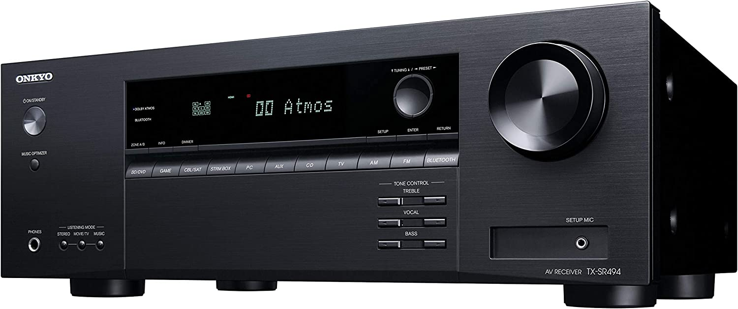 Amplificatore Onkyo TX-SR494 7.2 Dolby Atmos, DTS:X