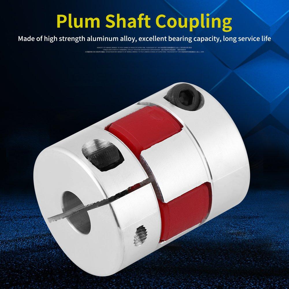 le coupleur daccouplement darbre de prune dalliage daluminium se connecte D25 L30 pour les pompes 7mm-11mm Arbre daccouplement de prune les ventilateurs