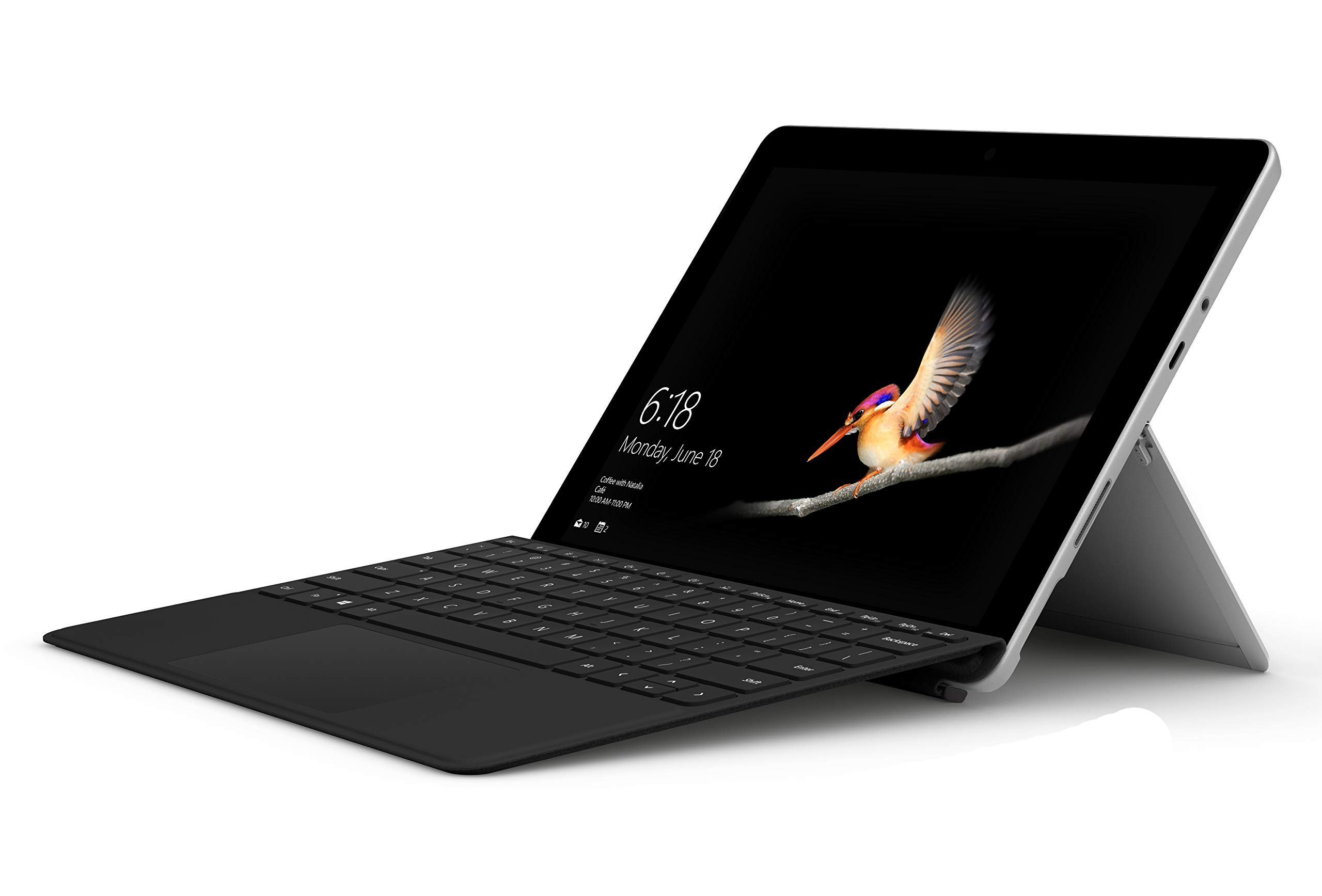 Microsoft Surface Go with Type Cover Bundle 10'' Touchscreen PixelSense Intel Pentium Gold 4415Y 128GB SSD Windows 10 by Microsoft (Image #1)