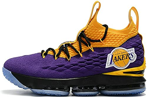 Mens Off White LeBron 15 Lakers LA City