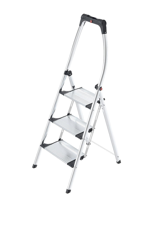 Hailo 4303-301 Living Step Comfort 3 Step Aluminum Ladder