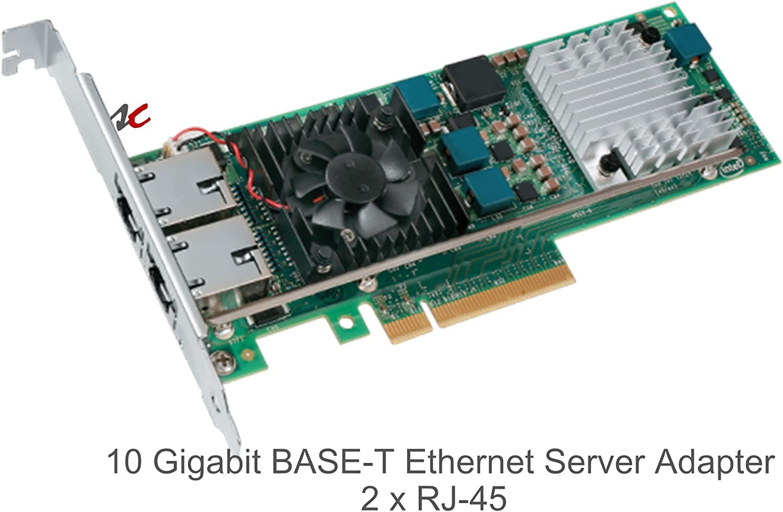 JM42W Intel Ethernet Server Adapter X520-T2