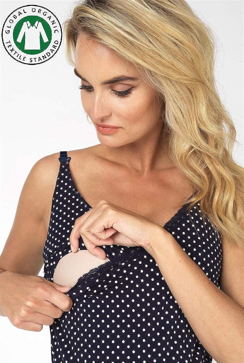 Nachthemd Bio Baumwolle Still-Nachtkleid Hannah Noppies Sleepdress Still