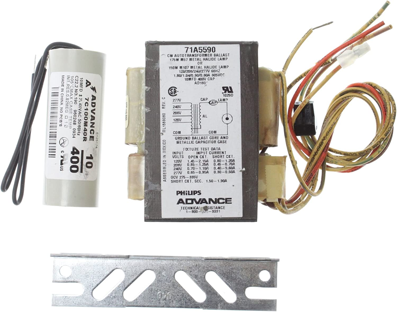Advance Core /& Coil Ballast Kit 71A5740-001D 250W M58 Metal Halide 480V