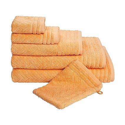 Frottana 030524293353_100150 Elegance - Toallas de baño, color naranja