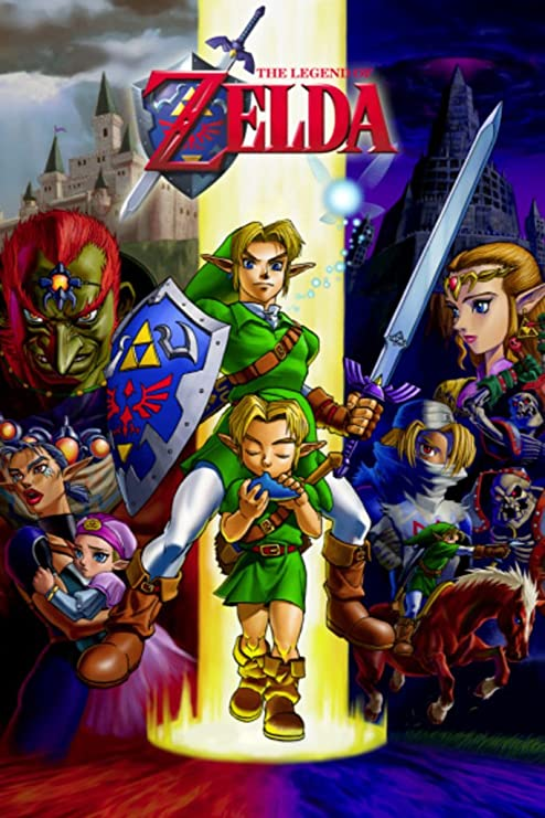 Amazon.com: Pyramid America Zelda Ocarina of Time Gaming Cool Wall Decor  Art Print Poster 24x36: Posters & Prints