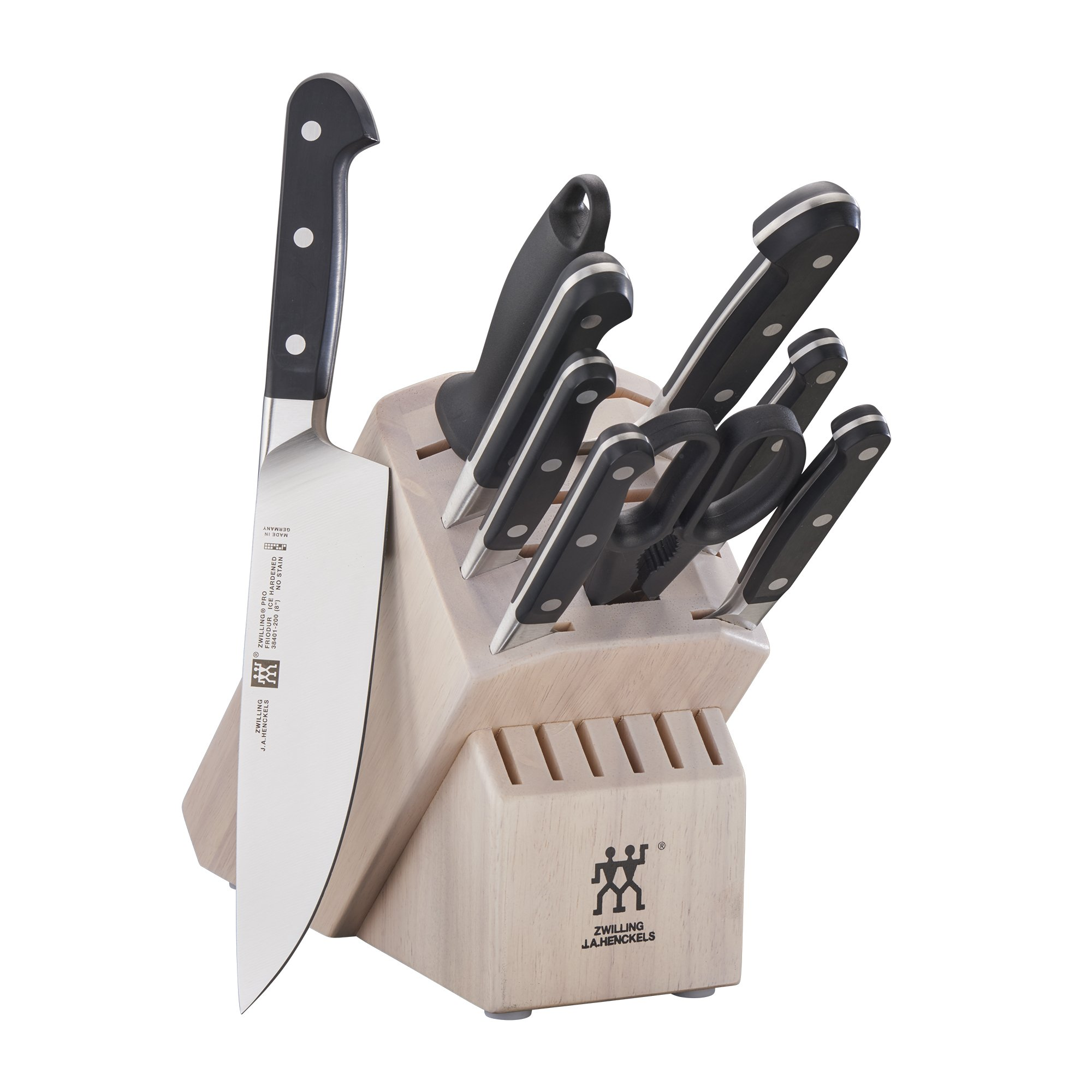 ZWILLING Pro 10-pc Knife Block Set - White by ZWILLING J.A. Henckels (Image #1)