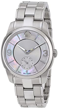 83f7dc73e22 Image Unavailable. Image not available for. Color  Movado Women s 0606618 Movado  Lx ...
