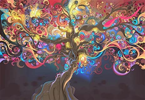 Image result for trippy wall art