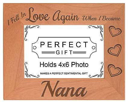 Amazon.com - ThisWear Grandma Gifts Fell In Love When I Became Nana ...