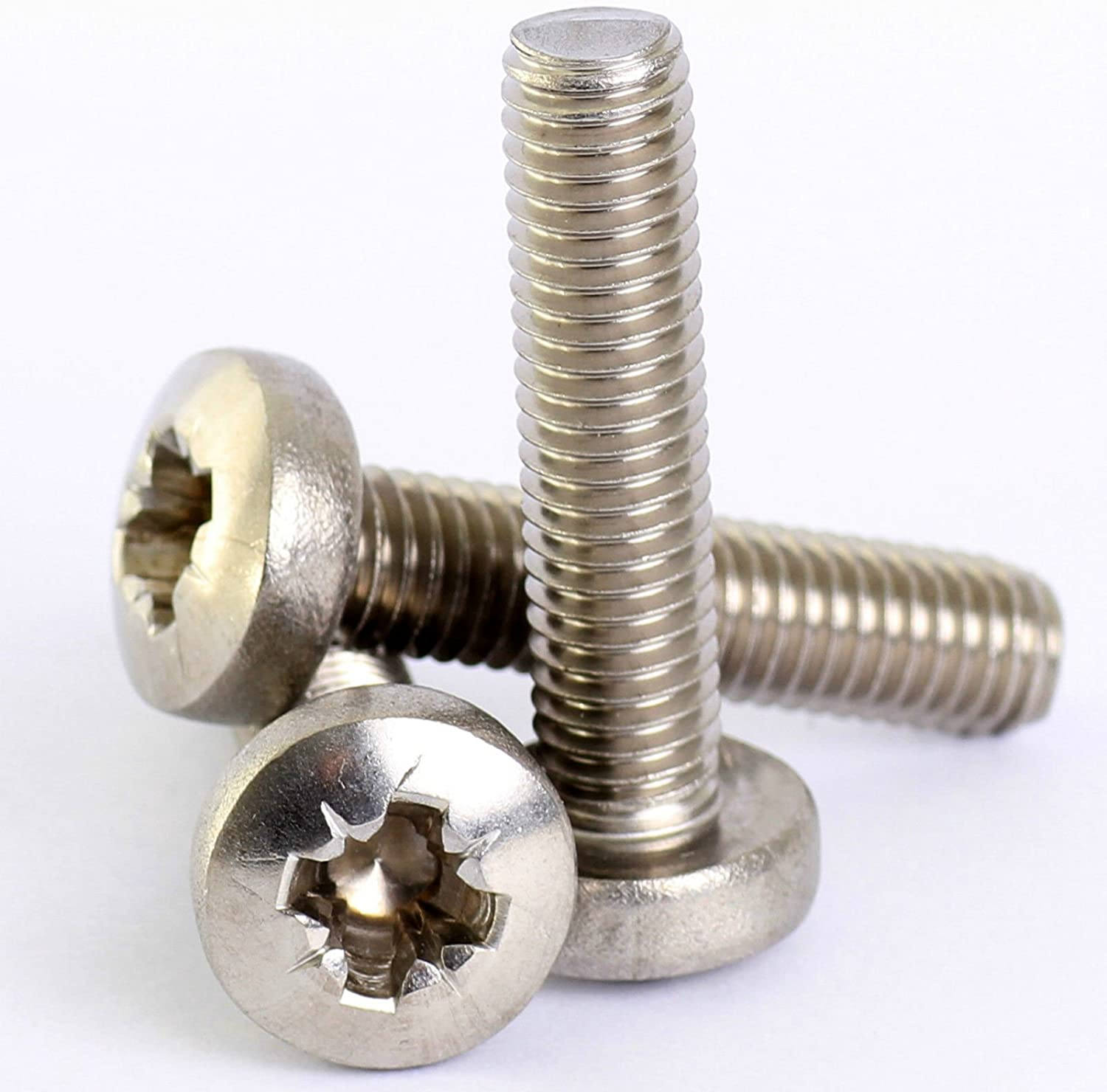 QTY:100 M2X4 7985-A2 PHILLIPS PAN HEAD STAINLESS STEEL MACHINE SCREWS