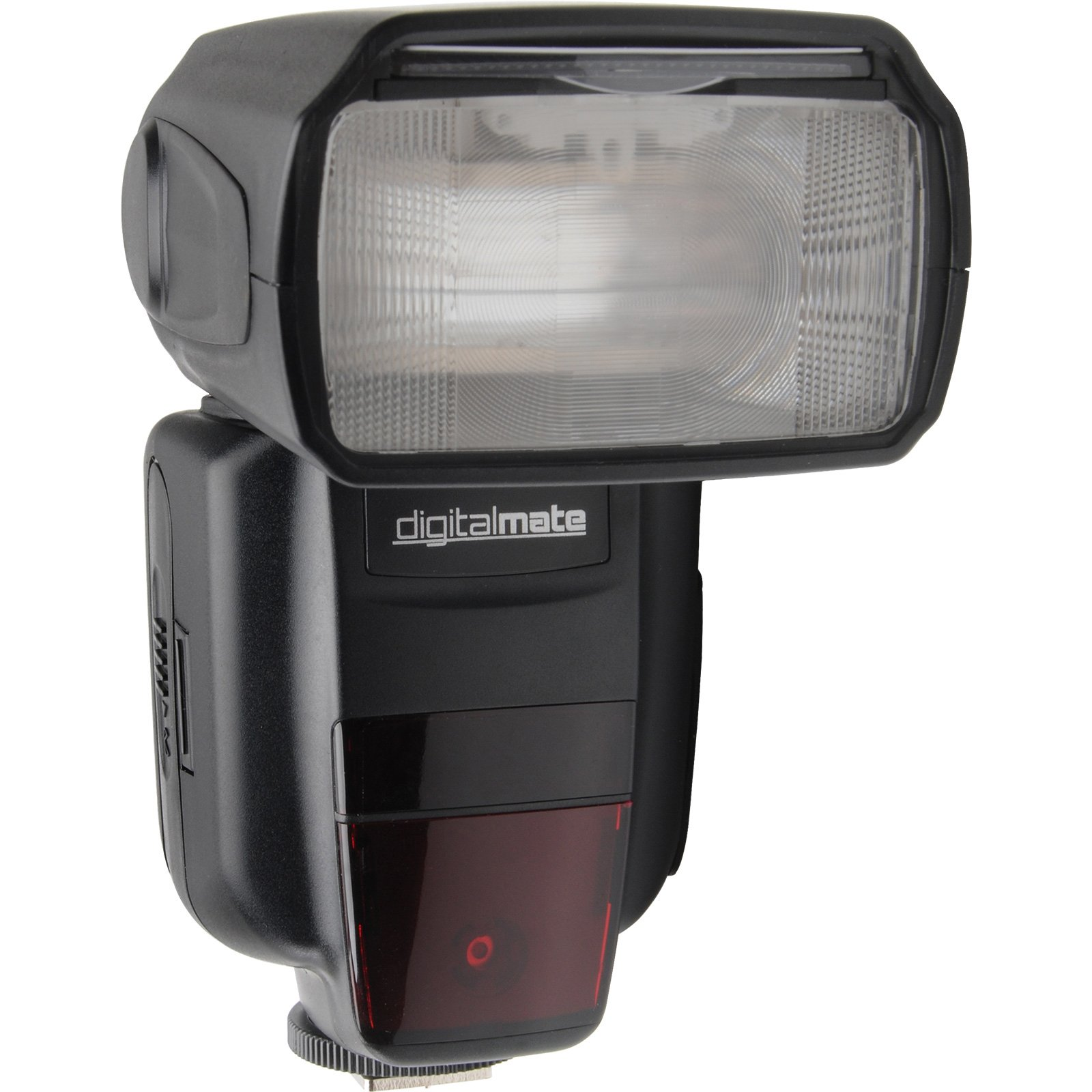 Digitalmate DM680EX SpeedLight Power Zoom 18-180mm Super High TTL Flash with Dual Slave Mode, Bounce and Diffuser Dedicated for Canon DSLR Digital Cameras