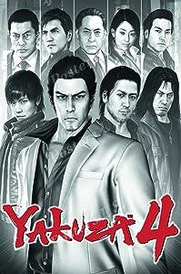 PrimePoster - Yakuza 4 Poster Glossy Finish Made in USA - NVG234 (24