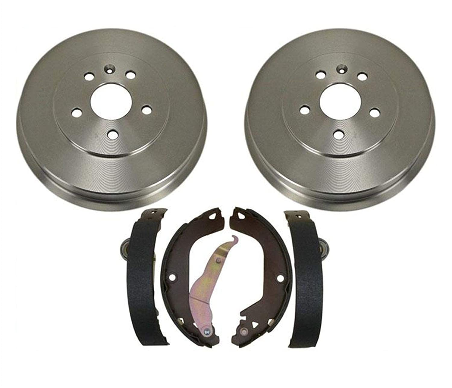 Both Left and Right 2014 For Chevrolet Cruze Rear Drum Brake Shoes Set with 2 Years Manufacturer Warranty