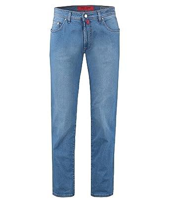 Pierre Cardin Herren Jeans Hose Deauville Regular Fit Blue