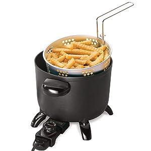 Presto 06006 Kitchen Kettle Multi-Cooker & Steamer (One Size, Cast Aluminum Base)
