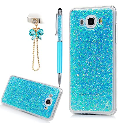 Amazon.com: Galaxy J7 Caso, 3d Bling Glitter Sparkle lindo ...