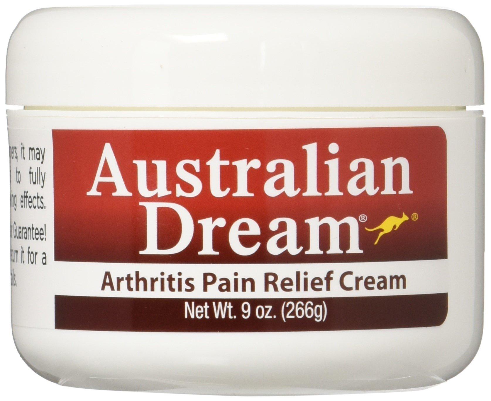Australian Dream Arthritis Pain Relief Cream, 9 Ounce