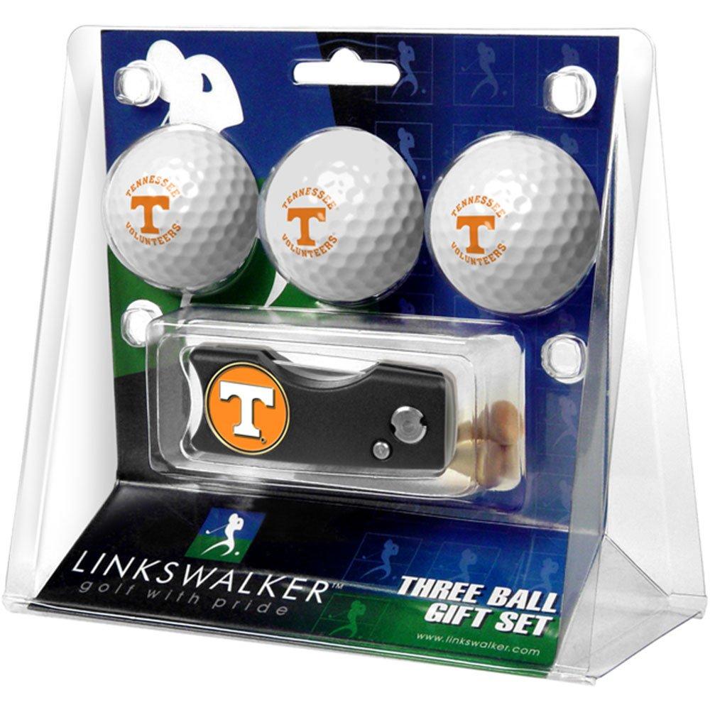 テネシーボランティアゴルフボールギフトパックwith Spring Action Divot Tool   B001EPKOH4