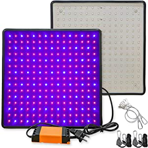 Greensindoor LED Grow Light 2 Pack,Grow Lights for Indoor Plants Upgrade Full Spectrum for Veg and Flower