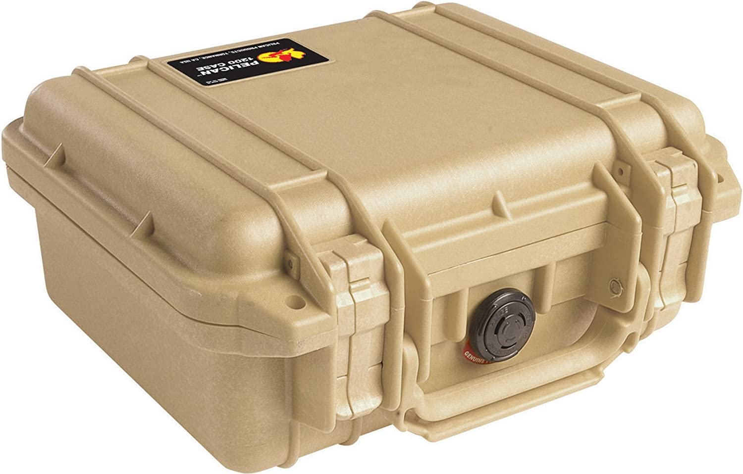 Pelican 1200 Camera Case With Foam (Desert Tan)