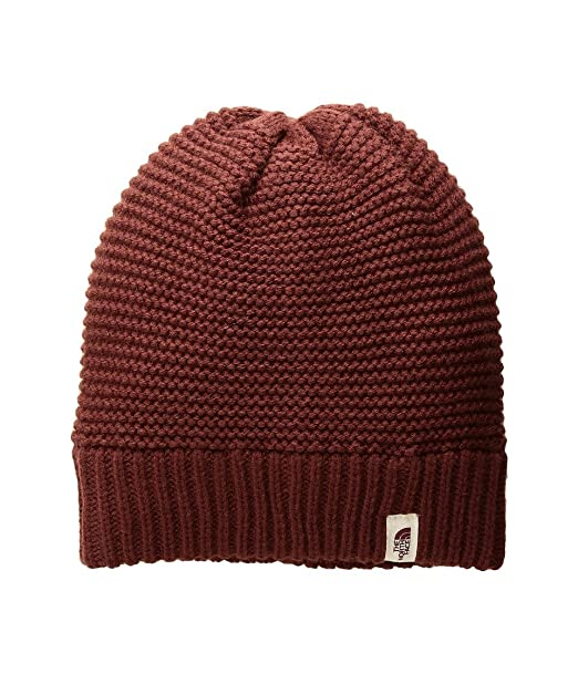 8ce7ec7a74 Amazon.com  The North Face Purrl Stitch Beanie Barolo Red Beanies ...