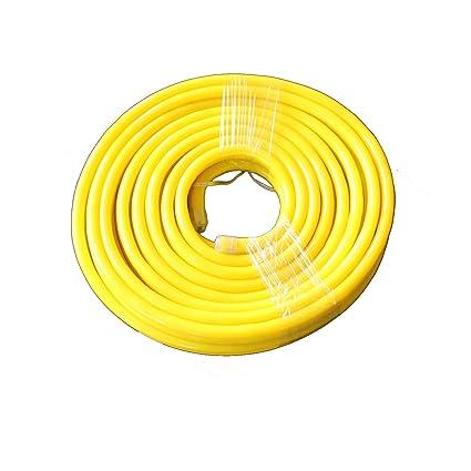 Vasten 30 ft LED Neon Rope Light 12V Flex LED Neon Tube Light Waterproof  Resistant, Accessories Included - [Ideal for Christmas Lighting,