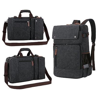 ba48f4c26e good BAOSHA BC-08 3-in-1 Multifunction Men s Briefcase Rucksack Messenger  Bag