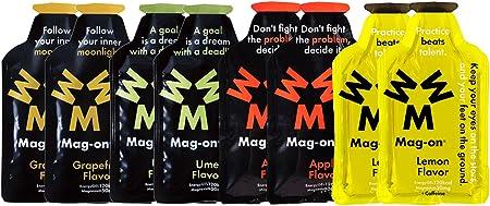 Mag-on マグオン エナジージェル おためし4味各2ケ新味計8個セット