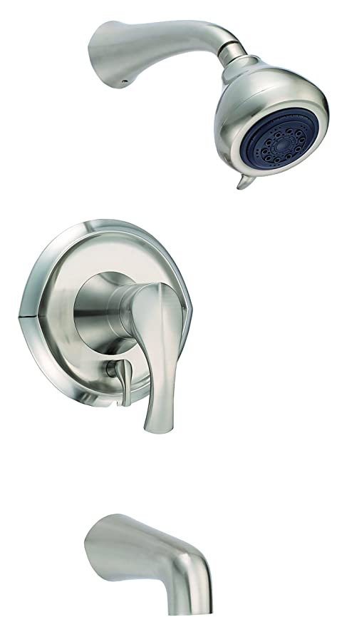 Danze D510046BN Corsair Tub And Shower Faucet, Brushed Nickel