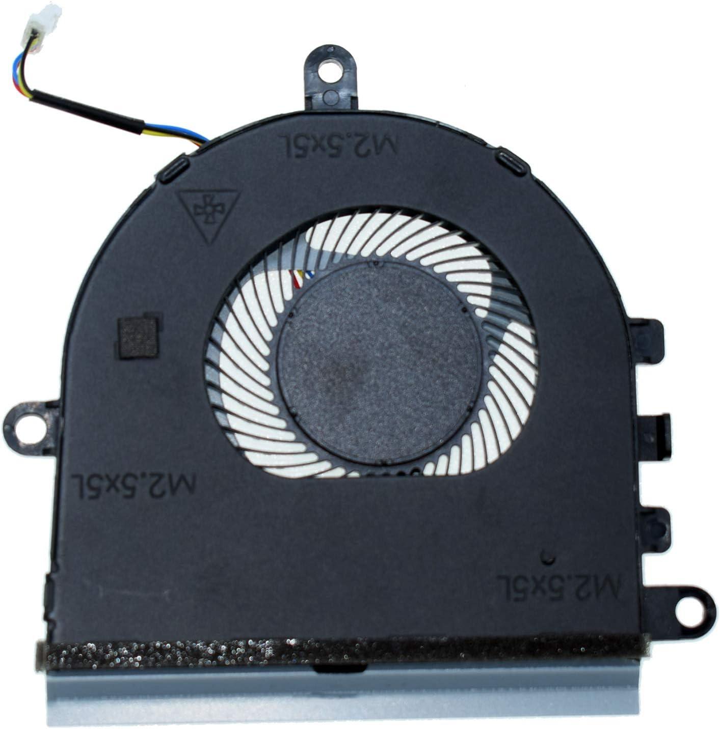 DREZUR CPU Cooling Fan for Without CD-ROM Version Del Inspiron 15 5570 5575 3533 3583 3585 5593 Series Laptop Cooler CN-07MCD0 7MCD0
