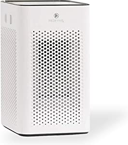 Medify MA-25 Medical Grade Filtration H13 True HEPA for 500 Sq. Ft. Air Purifier | Dual Air Intake | Two '3-in-1' Filters | 99.97% Removal in a Modern Design - White