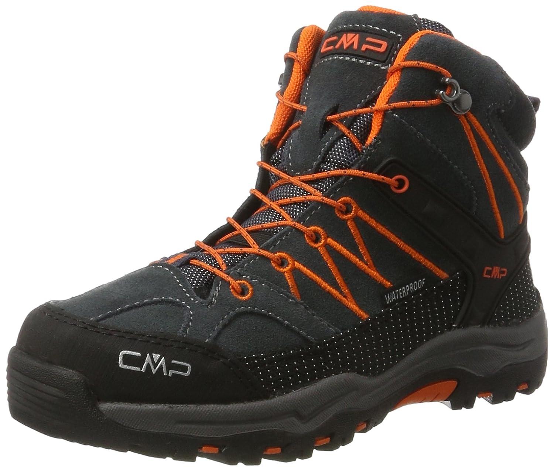 CMP Rigel Hautes Mid WP, Chaussures de Randonnée Hautes Rigel Mixte Adulte 28 EU|Noir (Asphalt) f860d5