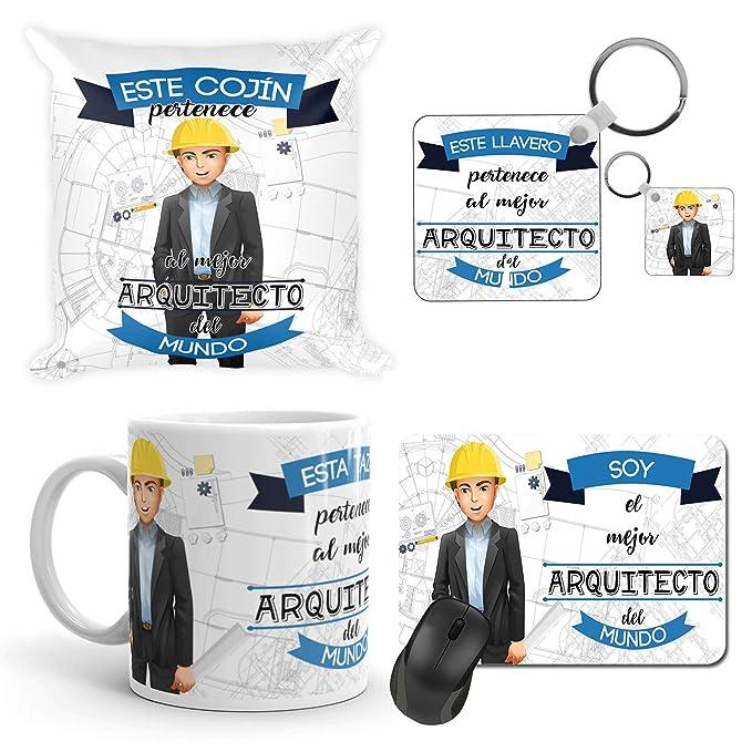 Kembilove Taza de Café del Mejor Arquitecto del Mundo – Taza de Desayuno para la Oficina – Taza de Café y Té para Profesionales – Taza de Cerámica ...