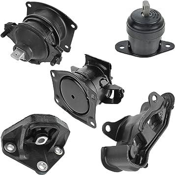 5 Piece Engine /& Transmission Mount Kit for 03-07 Honda Accord 2.4L Auto Trans