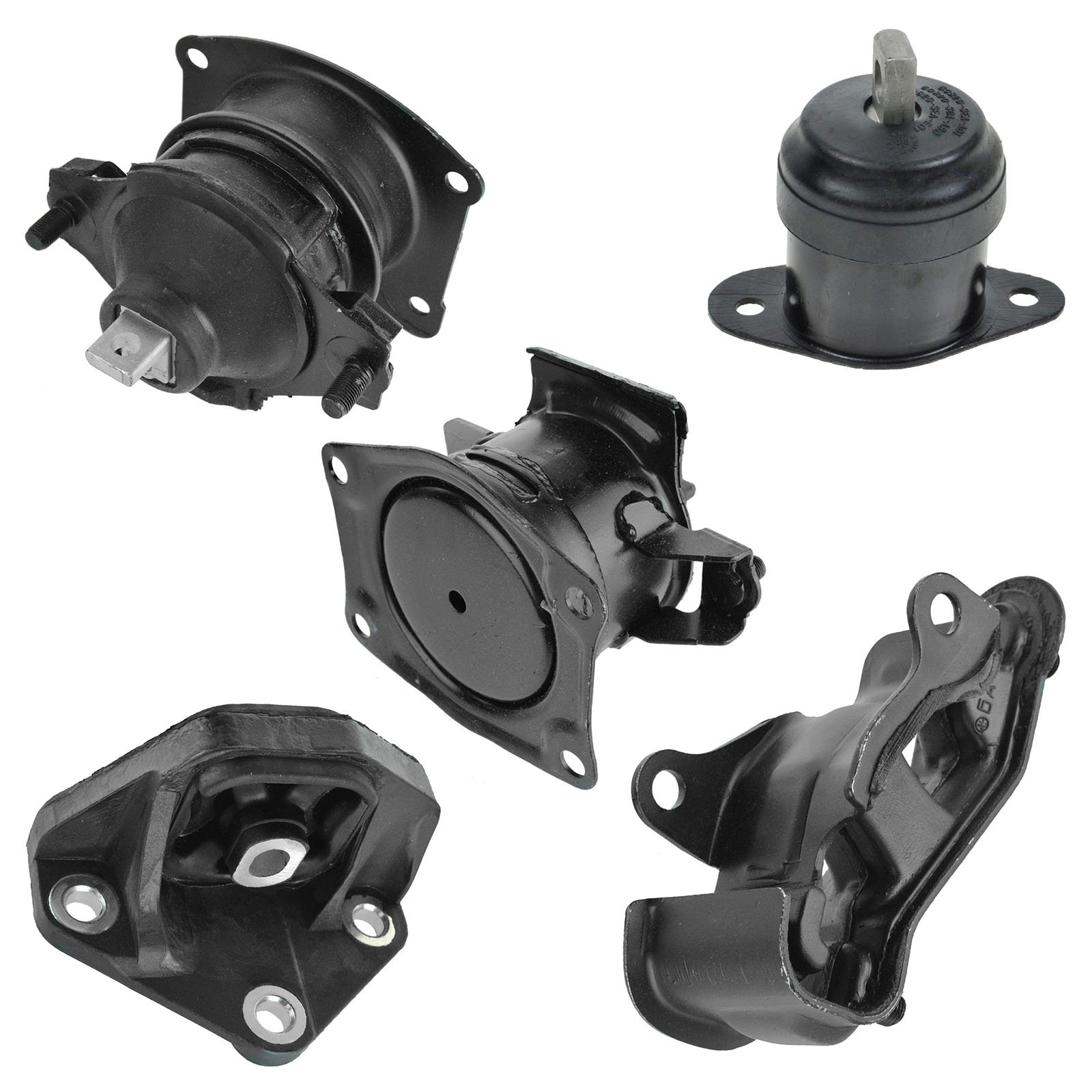 Engine Motor Transmission Mount Kit Set of 5 for 03-07 Honda Accord by 1A Auto