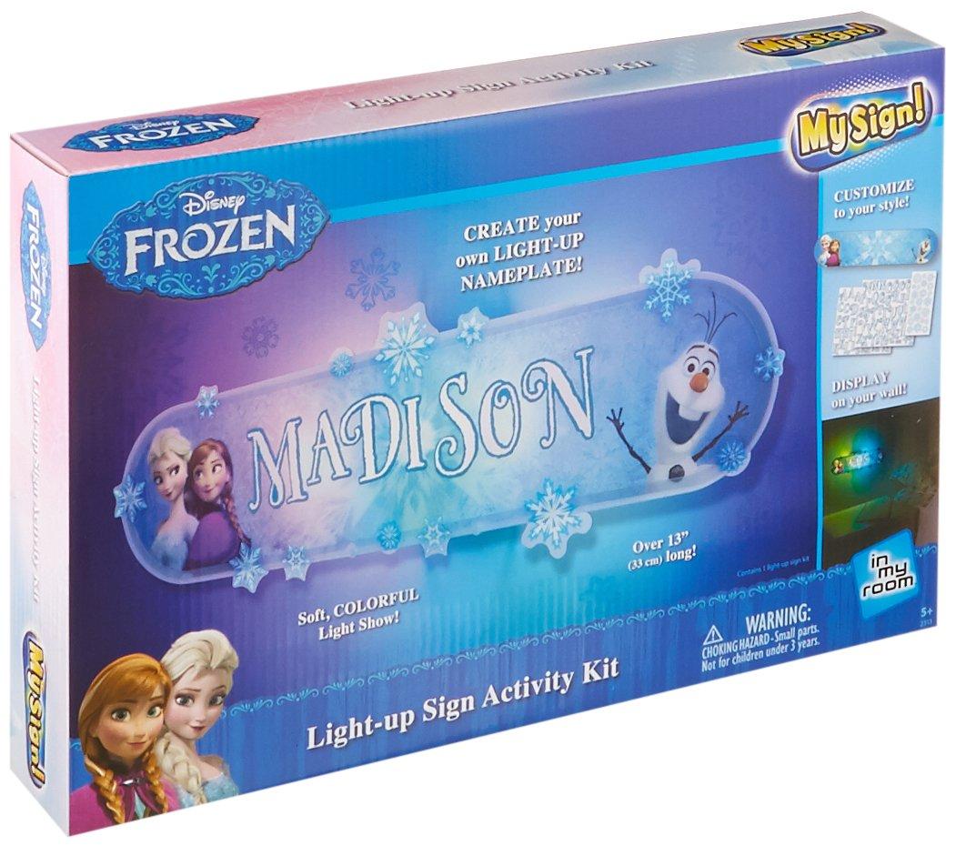 Amazon.com: Uncle Milton - Disney\'s Frozen - My Sign Wall Dacor ...