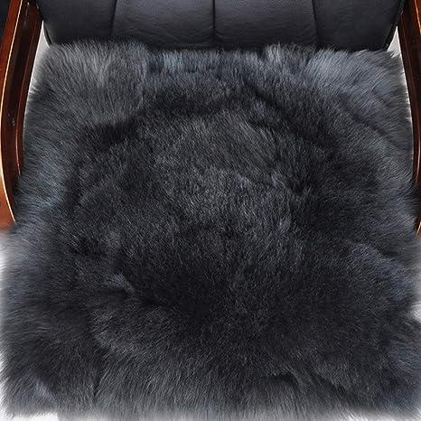 Amazon.com: Sheep - Cojín de lana pura para silla de comedor ...