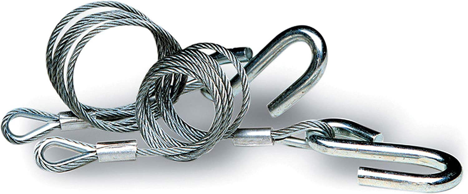 Galvanized Tie Down Engineering 59539 Class III Hitch Cables