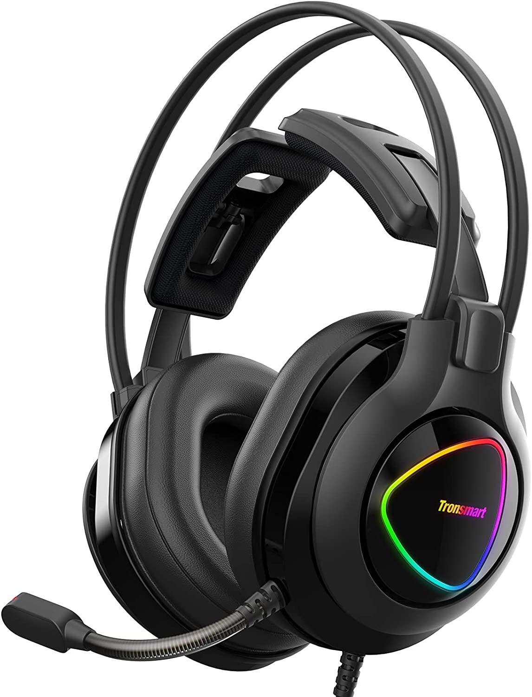 Tronsmart Alpha Casque Gaming PS4 Xbox One PC, Micro Casque Gamer avec Micro Anti Bruit