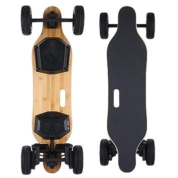 mymotto tabla de ruedas motorizada 35 km/h Unisex, transmisión SUV Longboard con mando a distancia, 930 x 320 x 175 mm: Amazon.es: Deportes y aire libre