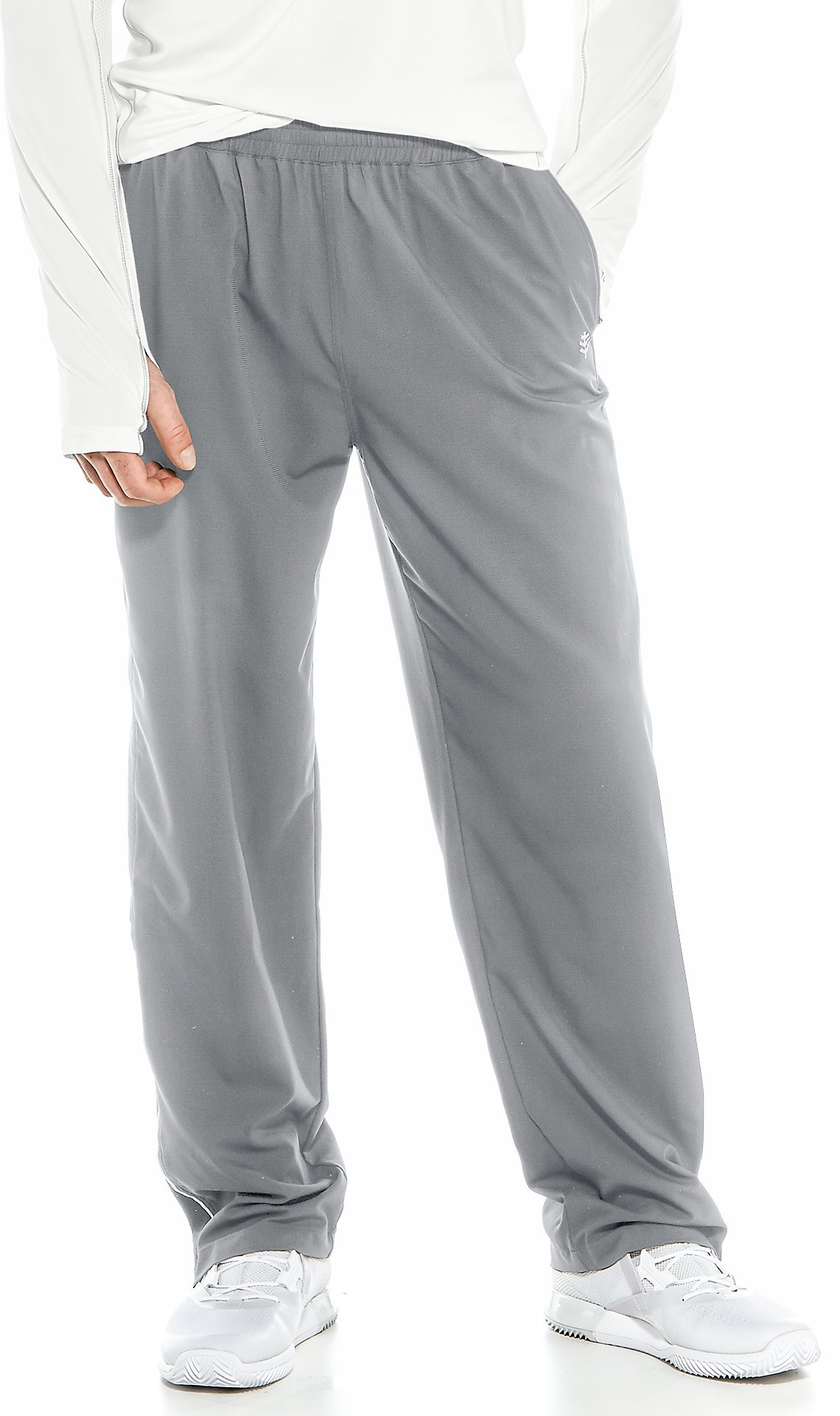Coolibar UPF 50+ Men's Outpace Sport Pants - Sun Protective (Small- Iron)