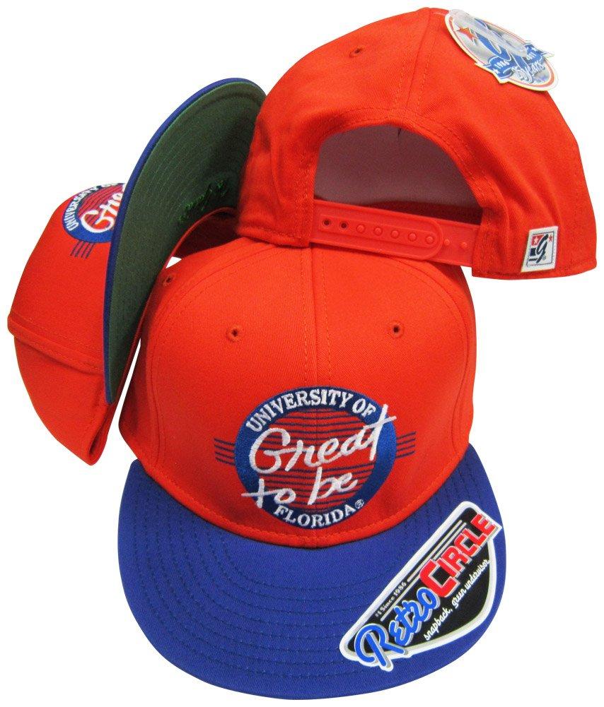 Florida Gators Great to Be円スナップバック調節可能なスナップバック帽子/キャップ   B005Z5PCB2
