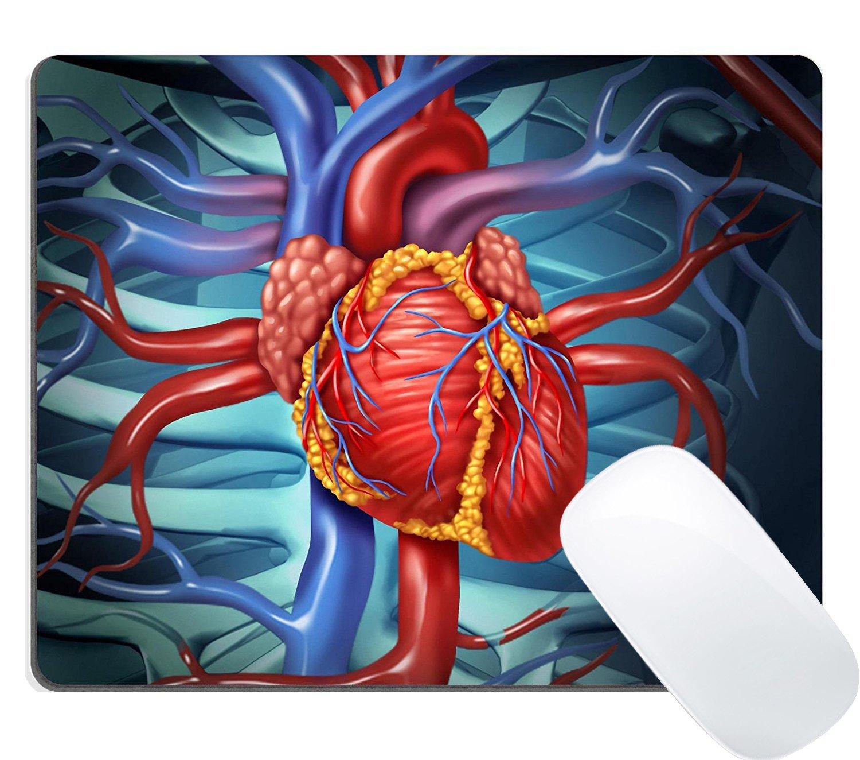 Amazon Wknoon Gaming Mouse Pad Cardiovascular Human Heart
